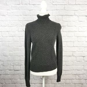 Equipment Cashmere Blend Turtle Neck Knit Sweater